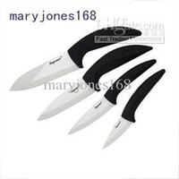 Wholesale High Quality White Mirror Ceramic Knife piece Set tyfhga