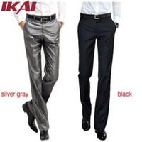 Wholesale TX239 Men Pants Mens Suit Solid Trousers Brand Business Men s Pant Western Style Blazer Formal Men Wedding Party Dresses