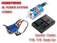 ezrun - EZRUN T KV Brushless Motor A ESC LED Program Card Combo
