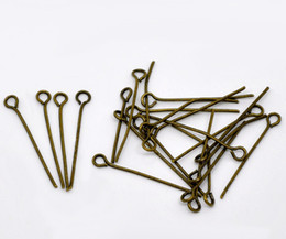 Wholesale Antique Bronze Eye Pins x0 mm Jewelry Making Findings