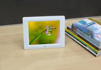 Wholesale 8 inch quot TFT Digital Photo Frame Multi Function Photo Music Movie x600 Resolution White