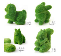 Wholesale 20pcs Grass Land Squirrel Chip Figurine Creative Home Decoration Toy