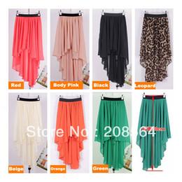 Chiffon Maxi Skirt Elastic Waistband Online | Chiffon Maxi Skirt ...