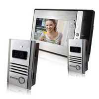 Wholesale 1pcs Video Door Phone Cameras Monitor Photos Memory to1 intercom system doorbell