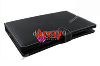Wholesale 10 inch USB keyboard Leather protect case for Apad ZT Epad X220 Flytouch2 DROP