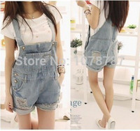 bib overall shorts womens - Womens Bib Overalls Jeans Donna Summer Wear Short Jumpsuits Shorts Rompers Teenage Coveralls for Women Macacao Femininos