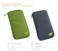 Wholesale Portable Women Travel Handy Bag Travelus handy Bag Checkbook Pen Passport Holder