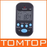 Wholesale LCD Digital Beat Tempo Mini Metronome Black I16B professional metronome
