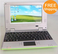 Wholesale New Arrival inch Notebooks EPC Mini Laptop Windows CE Wifi G HDD Free EMS pc