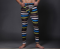 modal fabric - Spring Autumn Men s Thin Thermal Underwear Long Johns Underpants Soft Comfortable Modal Fabric