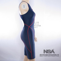Cheap Wholesale-Surfing suit Professional women's sleeveless fabric swimwear nsa 0510 4xl