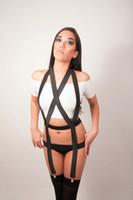 Cheap garters body Best wholesale black