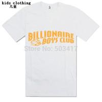 Cheap Wholesale-BBC short boy's t shirt Billionaire Boys Club clothes brand t-shirts kids clothing