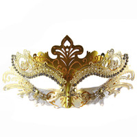 beautiful love pvc - Fashion Women Loves Beautiful amp Grace Princess amp Queen s Mask with light Metal PVC for Party Valentine Masquerade mask