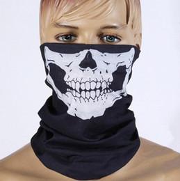 Venta al por mayor de alta calidad de la bufanda ejército de la manera del sombrero del cráneo counter strike pirata de esquí de la bicicleta de la bicicleta de la motocicleta gorro esqueleto máscara de media cara desde cráneo del sombrero del esquí fabricantes