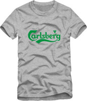 beer work shirt xl - plus size famous brand carlsberg beer the trend of work wear work clothes cotton short sleeve T shirt man t shirt top tee