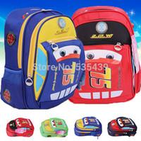 Wholesale NEW HOT color Cars PLEX Car print children school bag Mater National toddler boys school bag