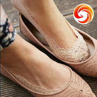 Wholesale Lace slippers socks piece pairs invisible socks laciness summer socks shallow mouth women s socks