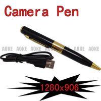 Wholesale SPY Mini Hidden Video Camera Recorder DV CAM PEN fps can work as PC camera web camera