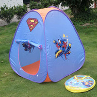 Wholesale IN BEST PRICE Lovely Supperman play tent for kids kids tent toys tent pop up tent NO
