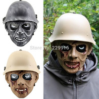 airsoft guns games - paintball gun mask men CS game airsoft skull airsoft masks Zombie army CS field halloween cosplay party masks for adults