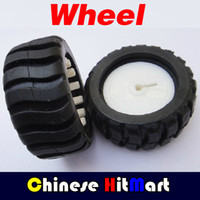 antenna rubber - and retail mm Rubber wheels D hole Shaft For Robot Smart Car DIY J228