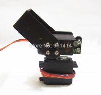 arduino robot kit - set DOF Long Pan And Tilt Servos Bracket Sensor Mount Kit For Robot Arduino Compatible MG995 Retail