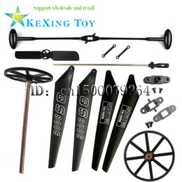Wholesale QS8006 rc helicopter completed quickly replace worn parts for large cm helicopter toy model aircraft QS