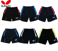 Wholesale M XL NEW Butterfly Table Tennis Shorts Sports Shorts MenT