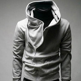 Wholesale Low Price Men s Hoodies for Men Sportswear high collar hoodies jecket classic zipper hood sweatshirt outerwear