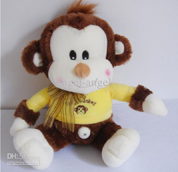 Stuffed Monkey Dog Toy Stuffed Monkeys Toys Monkey