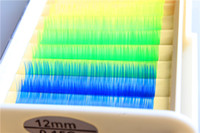 Wholesale C Curl mm x12mm Mink Fluorescent Individual False Eyelashes For Eyelash Extensions Tool strips tray