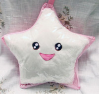 Wholesale Colourful LED Lamp LED Heart Star Shape Pillow Flashing Pillow LED Throw Pillow