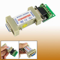 Wholesale rs rs RS485 to RS232 Communication Data cable Converter Adapter adaptor convertor PTZ cctv