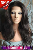 Wholesale Brand New Gorgeous quot quot Body Wave Body Wave Swiss Full Lace Human Hair Wigs NEW031