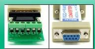cctv ptz - RS485 to RS232 Adapter adaptor convertor converter rs rs Data cable Converter PTZ cctv