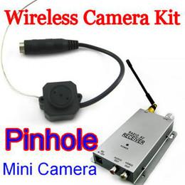 Promotion caméra pour la sécurité cctv Caméra sans fil Nanny kit Wireless Security Cam sténopé Mini caméra de vidéosurveillance