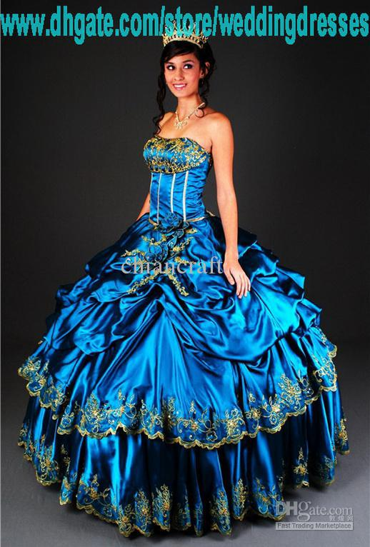 2011 Party Pageant Princess Prom Ball Gown Quinceanera Dresses ...