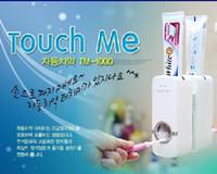 automatic toothpaste - New Automatic Toothpaste crowd Dispenser Brush holder holders SET