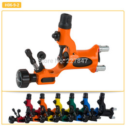 Wholesale Newly Orange Pro Rotary Tattoo Machine Dragonfly High Quality Colors Tattoo Machine Shader And Liner