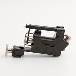 Wholesale-STEALTH Generation 2.0 SET Aluminum Rotary Tattoo Machine Liner Shader Supply Ink Black Free Shipping