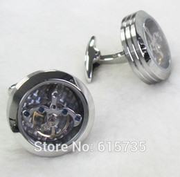 Wholesale-2015 high quality men's jewelry stainless steel cufflinks in
