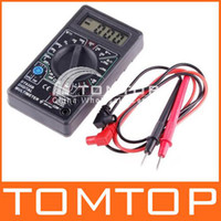 Wholesale AC DC professional electric digital multimeter tester checker H1762 overload protection