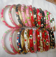 Wholesale Cloisonne Bangle Bracelets Cheap Personalized For Women Colorful mix color Free