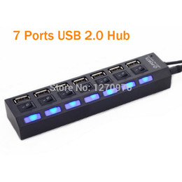 Wholesale port Multi Ports USB hub Charging Station power Charger Splitter adatpter for Phone Ipad PC laptop power Charger