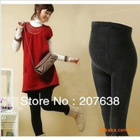 best maternity clothes - Best Selling Maternity Clothes Pregnant winter warm solid fleece leggings