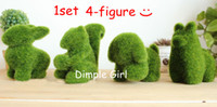artificial gifts ideas - Event amp Party Supplies artificial kawaii wedding decoration gift set idea grass simulation animal figurine small dog bunny