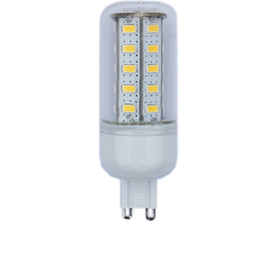Wholesale-HSLC5730-2A36 Ultra Bright Corn Light G9 36 SMD 12W LED Light Bulb With Cover 220V