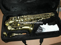Wholesale New arrival Classic antique brass Alto SAX Saxophone