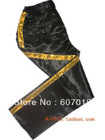 Wholesale MJ Michael Jackson Billie Jean Classic Black Golden Men s Trousers Pants